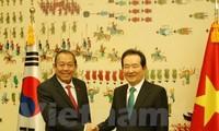 Phó Thủ tướng Trương Hòa Bình thăm Hàn Quốc
