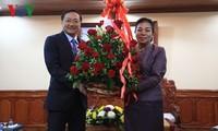 Đại sứ Việt Nam tại Lào chúc mừng Quốc khánh Lào