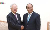 Thủ tướng Nguyễn Xuân Phúc tiếp Chủ tịch Tập đoàn CJ (Hàn Quốc)