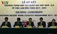 Việt Nam và ILO ký kết chương trình hợp tác quốc gia về việc làm bền vững