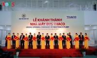 Lễ khánh thành Nhà máy xe bus lớn nhất Đông Nam Á