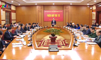Phiên họp thứ Tư của Ban Chỉ đạo Cải cách tư pháp Trung ương
