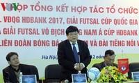 VOV và VFF cam kết chung tay nâng tầm futsal Việt Nam
