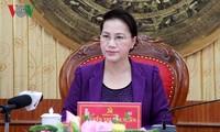 Chủ tịch Quốc hội Nguyễn Thị Kim Ngân làm việc tại Thanh Hóa