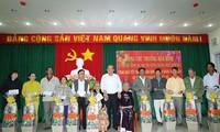 Phó Thủ tướng Thường trực Trương Hòa Bình thăm, tặng quà Tết tại Ninh Thuận
