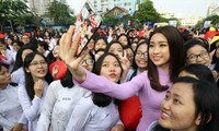 """Lễ hội """" Duyên dáng áo dài Thành phố Hồ Chí Minh"""" 2018"""