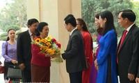 Đoàn đại biểu Ủy ban Dân tộc Quốc hội Lào thăm Nghệ An