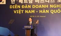 Diễn đàn doanh nghiệp Việt Nam - Hàn Quốc