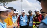 Hơn 300 nhân viên y tế ASEAN diễn tập ứng phó siêu bão