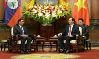 Chủ tịch nước Trần Đại Quang tiếp Chủ nhiệm Văn phòng Chủ tịch nước Lào