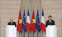 Tăng cường quan hệ đối tác chiến lược giữa Pháp với Việt Nam