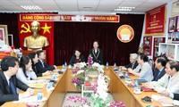 Phó Chủ tịch nước Đặng Thị Ngọc Thịnh làm việc với Hội Khuyến học Việt Nam