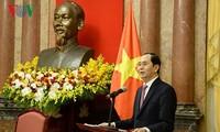 Tăng cường phối hợp chặt chẽ giữa Chủ tịch nước và Mặt trận Tổ quốc Việt Nam