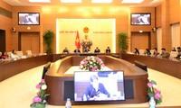 Phó Chủ tịch Quốc hội Uông Chu Lưu tiếp Đoàn Nghị sỹ Romania và đại biểu Hội đồng Doanh nghiệp Hoa K