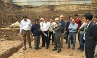Phát hiện nhiều dấu tích quý tại Hoàng thành Thăng Long