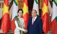 Tuyên bố chung Việt Nam – Myanmar