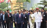 Cố vấn Nhà nước Cộng hòa Liên bang Myanmar kết thúc chuyến thăm chính thức Việt Nam