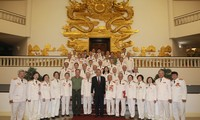 Phó Thủ tướng Trương Hòa Bình tiếp đoàn cán bộ Công an chi viện chiến trường Miền Nam