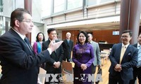 Hoạt động của Phó Chủ tịch nước Đặng Thị Ngọc Thịnh tại Australia