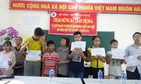 Thăm hỏi tặng quà nạn nhân dacam tại Hà Nội, Hà Nam, Hải Phòng