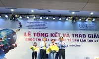Trao giải cuộc thi viết thư Quốc tế UPU lần thứ 47 dành cho thiếu nhi