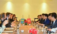 Việt Nam và Thụy Điển tăng cường hợp tác về kinh tế, thương mại