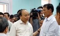 Thủ tướng Nguyễn Xuân Phúc kiểm tra công tác khắc phục hậu quả sự cố Formosa