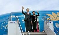 Nhật Bản dành nghi thức cấp cao nhất chào đón Chủ tịch nước Trần Đại Quang và Phu nhân