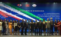 Việt Nam-Italy tăng cường giao lưu, hợp tác hữu nghị