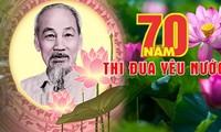 Các địa phương hưởng ứng 70 năm Ngày Chủ tịch Hồ Chí Minh ra lời kêu gọi thi đua ái quốc