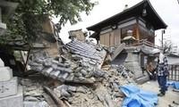Chưa có thông tin người thương vong trong động đất Nhật Bản