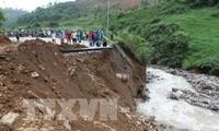 Tiếp tục thiệt hại về người và tài sản trong đợt mưa lũ