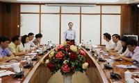Chủ tịch Ủy ban Trung ương MTTQ Việt Nam Trần Thanh Mẫn làm việc tại Vĩnh Phúc