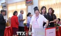 Hội người Việt Nam tại Viêng Chăn tổ chức Đại hội đại biểu khóa X