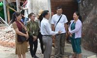 Hỗ trợ các gia đình Việt kiều ở Campuchia khôi phục chỗ ở sau hỏa hoạn