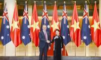 Chủ tịch Quốc hội Việt Nam hội đàm với Chủ tịch Hạ viện Australia