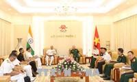 Việt Nam -  Ấn Độ tăng cường hợp tác hải quân