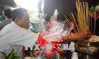 Lễ cầu siêu và dâng hương tưởng niệm liệt sĩ Thanh niên xung phong