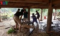 Nỗ lực khắc phục hậu quả của bão Sơn Tinh và mưa lũ ở phía Bắc