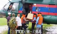 Việt Nam hỗ trợ lực lượng, phương tiện giúp Lào