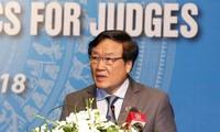 Việt Nam và Singapore tăng cường hợp tác trong lĩnh vực tòa án