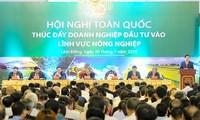Hội nghị toàn quốc thúc đẩy doanh nghiệp đầu tư vào lĩnh vực nông nghiệp