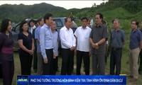 Phó Thủ tướng Thường trực Chính phủ Trương Hòa Bình làm việc với huyện Mường Nhé