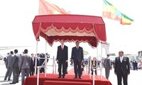 Chủ tịch nước Trần Đại Quang bắt đầu chuyến thăm cấp Nhà nước Ethiopia