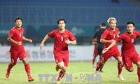 ASIAD 2018: Olympic Việt Nam vượt qua Bahrain, lần đầu tiên có mặt tại tứ kết