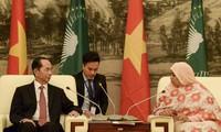 Việt Nam và các nước châu Phi luôn ủng hộ và tương trợ lẫn nhau