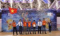 Đội tuyển Việt Nam 2 vô địch Cuộc thi Sáng tạo Robot châu Á - Thái Bình Dương (ABU Robocon) 2018