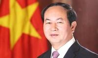 Chủ tịch nước Trần Đại Quang gửi Thư chúc mừng Đại hội đồng AIPA – 39