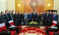 Việt Nam và Lào tăng cường hợp tác về công tác Mặt trận