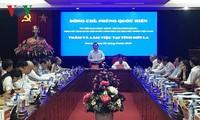 Phó Chủ tịch Quốc hội Phùng Quốc Hiển làm việc tại Sơn La